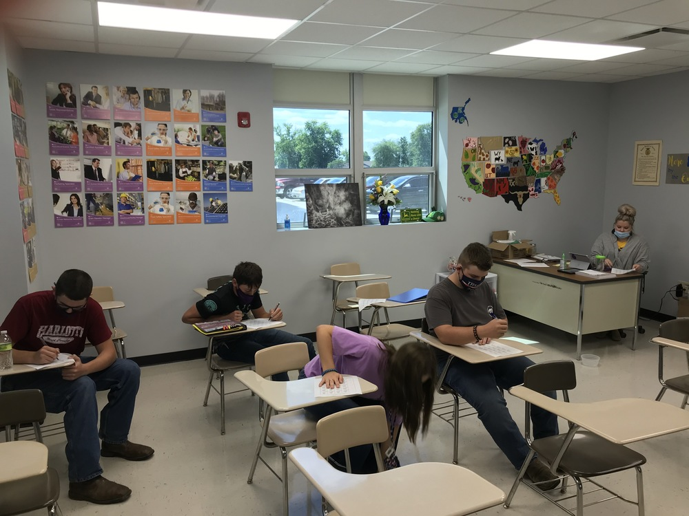 Brownstown High School Ag Classes are back!!!