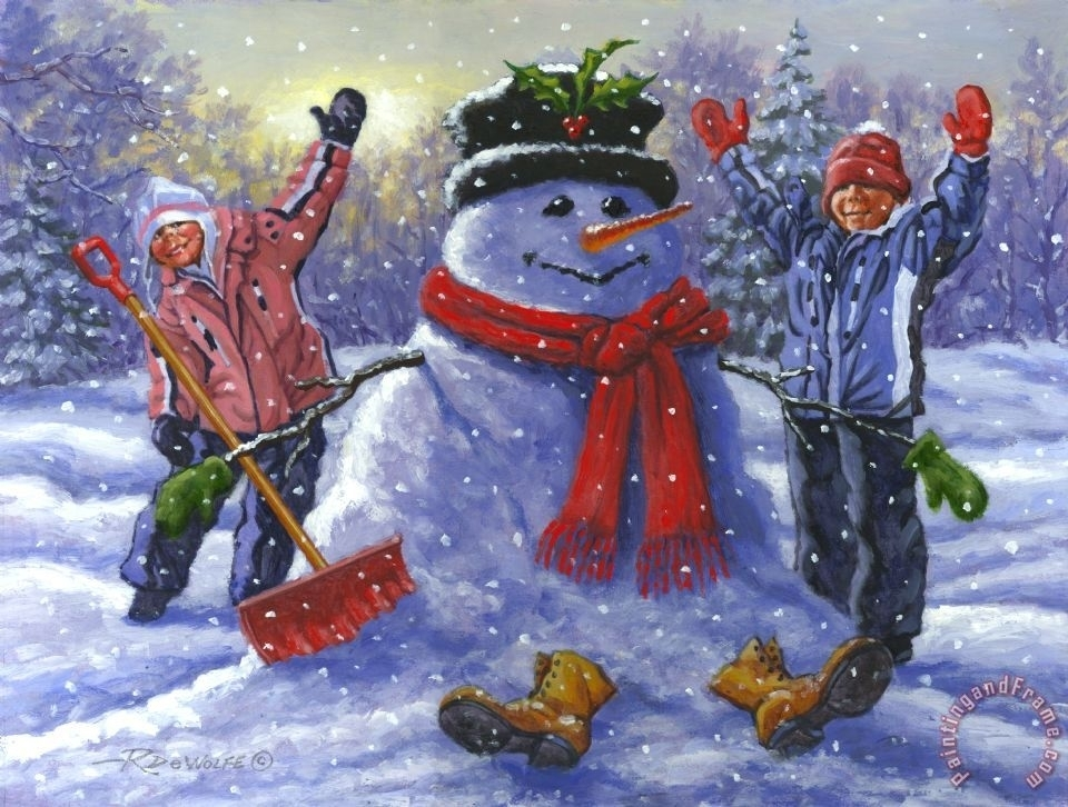 SNOW DAY!  No School Tuesday, December 17.