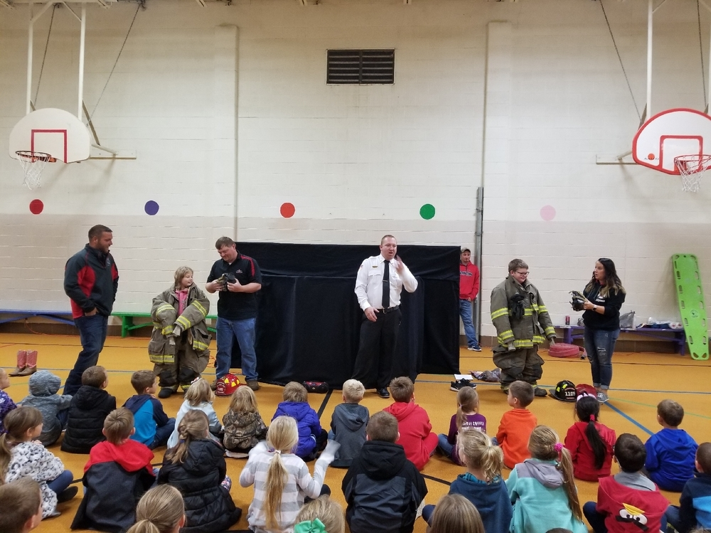 Fire Prevention Presentations Kindergarten-6th Grade