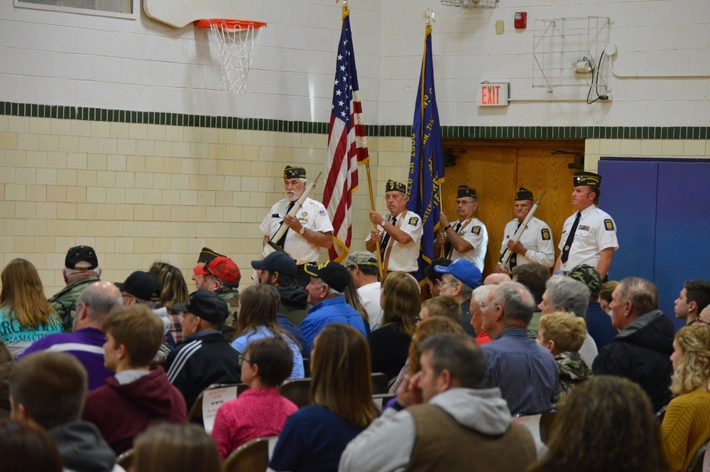 Jr./Sr. High School Veterans Day Ceremony