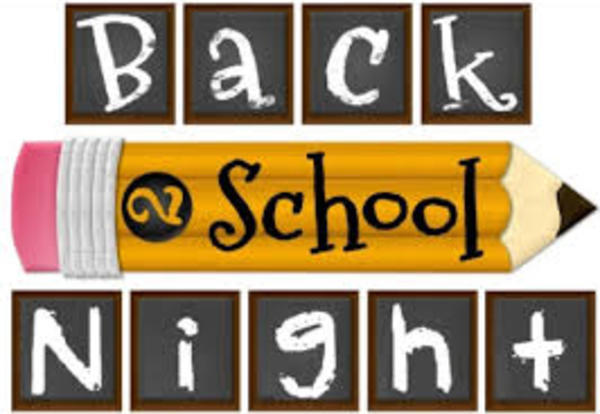 BES Back To School Night