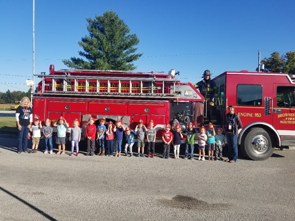 PreK Fire Prevention Lesson