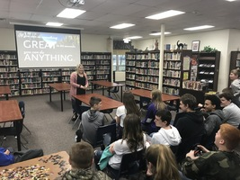 New Ag Teacher Meets with Students