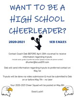 Want to be a High School Cheerleader!?