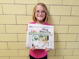 Mother's Day Newspaper Contest